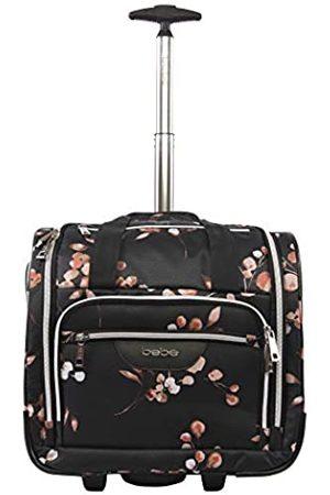 Bebe Damen Valentina-Handgepäcktasche unter dem Sitz (Schwarz) - BE-UD-20-FLBR