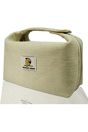 Moranse Kosmetik-Reisetasche, wasserdicht, multifunktional, mit verbessertem Knopf, tragbares Design, bequemer zu tragen