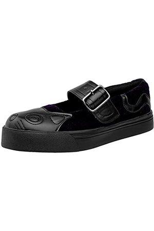 TUK Damen A9102l Kitty Mary Jane Fashion Sneaker, Schwarz
