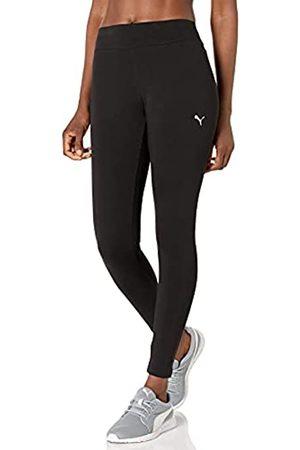 PUMA Damen Essentials Leggings, Black-Katze