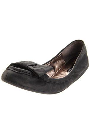 ZIGIny Damen Jackie Slip-On Loafer, (schwarzes Leder)