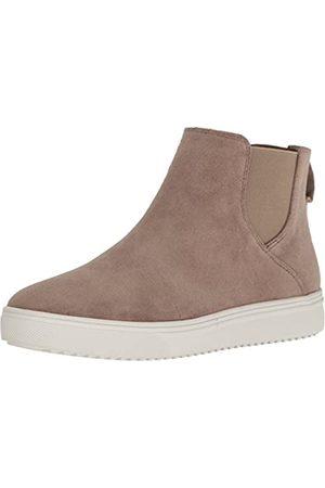 Blondo Baxton Damen-Sneaker, wasserdicht, modisch, Beige (Pilz-Wildleder)