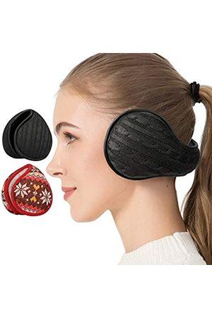 CUIMEI Winter-Ohrenschützer für Damen und Herren (2 Stück/1 Pack)
