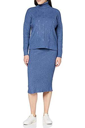 Apart Damen Knitted Dress 2-in-1 Cocktailkleid