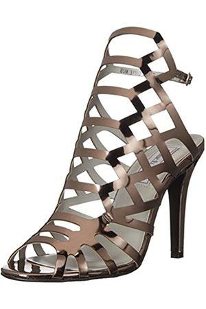 Touch Ups Damen Mercury Kleid Sandale, Silber (Zinnfarben)