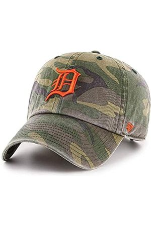 '47 Detroit Tigers Clean Up Hat Cap Camo/ Garment Washed Vintage