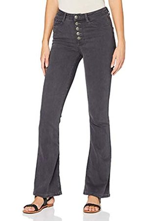 Dorothy Perkins Damen Charcoal 5 Button Jeans