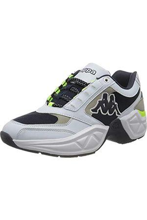 Kappa Unisex-Erwachsene Krypton Sneaker, 1067 White/Navy