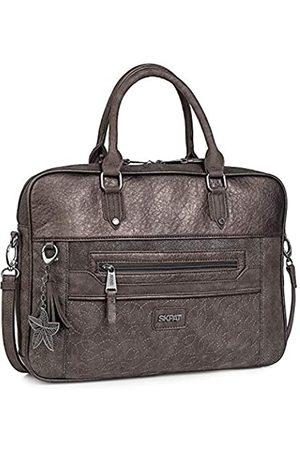 """Skpat 15"""" Messenger Bag Brieftasche. Tragbarer Computer. Leinwand und Leder PU. Sicher, widerstandsfähig, praktisch und bequem. Gepolstert. 303838"""