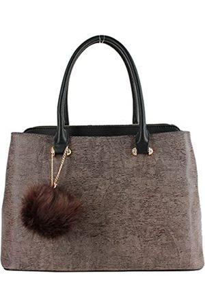 Alyssa HSG-62552 Damen Handtasche aus PU-Leder