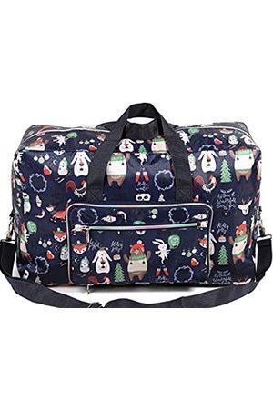 Wennmole Faltbare große Reisetasche, wasserdicht, niedlich