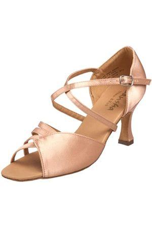 SANSHA Nina Damen-Ballsaal-Schuh, Beige (fleischfarben)