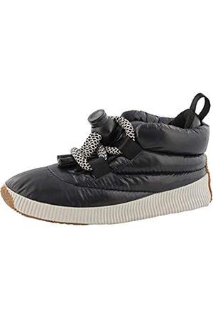sorel Damen Sneaker, OUT N ABOUT PUFFY LACE, (Black), Größe: 41