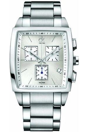 Calvin Klein Herren-Armbanduhr Bold Square Chr.Ste