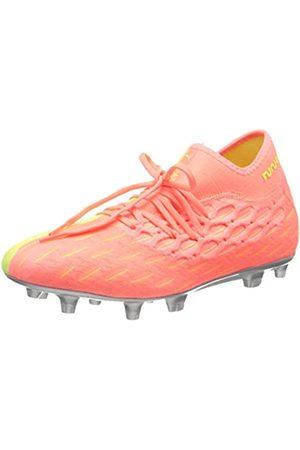 PUMA Herren Future 5.2 Netfit OSG FG/AG Fußballschuhe, NRGY Peach-Fizzy Yellow