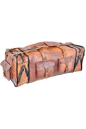 Bagsifi 76,2 cm große, handgefertigte Reisetasche, Reisetasche, Turnbeutel