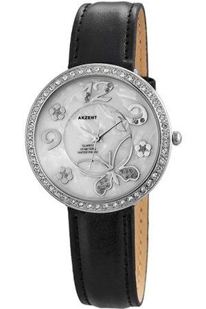 Akzent Damen-Armbanduhr Analog Quarz Verschiedene Materialien ss8022000012