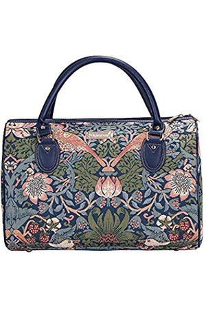 Signare William Morris Reisetasche mit Blume und Vogel