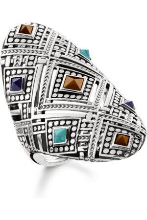 Thomas Sabo Damen Ringe - Ring Afrika Ornamente mehrfarbig