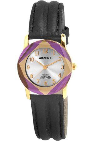 Akzent Damen-Armbanduhr XS Analog Quarz Verschiedene Materialien SS7903800013
