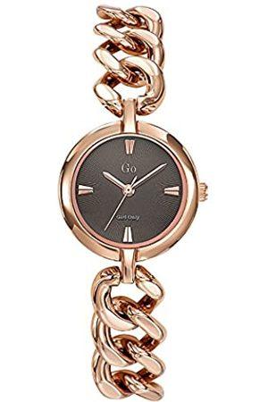 GO Girl Only Damen Analog Quarz Uhr mit Messing Armband 695123