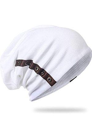 A&R Herren Slouchy Beanie Mütze Slouch Knit Cap Winter Sommer Skullcap B020 - - Einheitsgröße