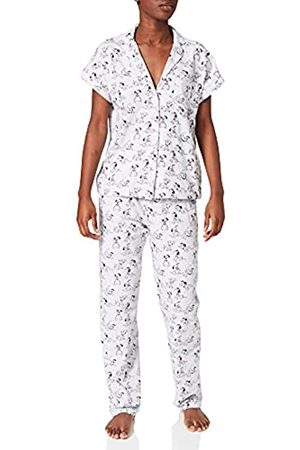 Women secret Damen Pijama camisero 101 Dámatas algodón Zweiteiliger Schlafanzug