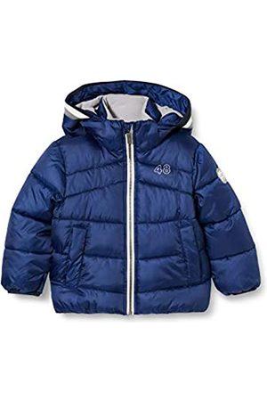Sanetta Jungen Outdoor Jacke urban Blue Warme Winterjacke in Dunkelblau Kidswear in einem sportiven Look mit Abnehmbarer Kapuze