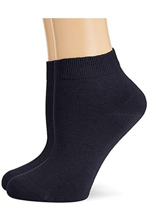 Hudson Damen Sneaker Socken, 025001 Only, 2er Pack