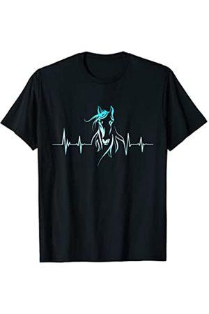 Farm n' Fancy Pferde - Herzschlag Pferd - Damen Frauen T-Shirt