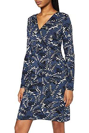 Noppies Damen Dress nurs ls AOP Alford Kleid, Insignia blue-P616