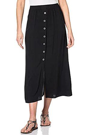 ONLY Damen Onlnova Life Button Skirt SOLID WVN 8 Rock