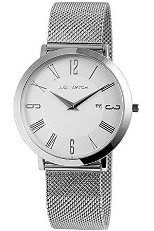Just Watches Damen Analog Quarz Uhr mit Edelstahl Armband JW20003-004