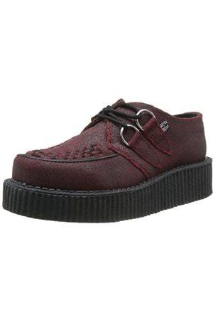 TUK Unisex-Erwachsene Mondo Lo Creeper Sneaker, Rosso (Rouge (Red/Black Cracked Overpaint)