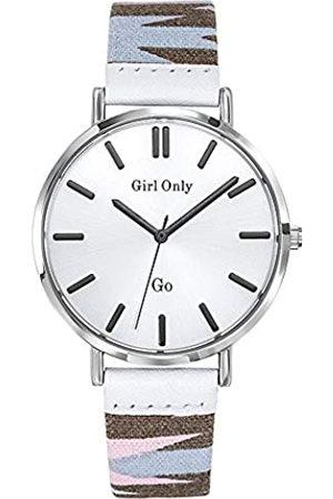 GO Girl Only GoGirlOnlyDamenAnalogQuarzUhrmitStoffArmband699142