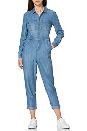 Superdry Womens Tencel Boiler Suit Dress