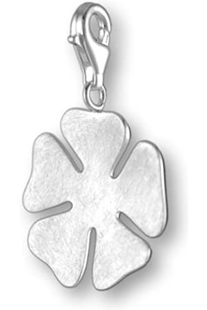 Melina Damen-Charm Anhänger Blume 925 Sterling Silber 1801123