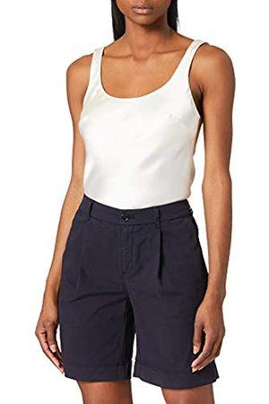 BOSS Damen C Taggie-D Relaxed-Fit Chino-Shorts aus elastischer Bio-Baumwolle