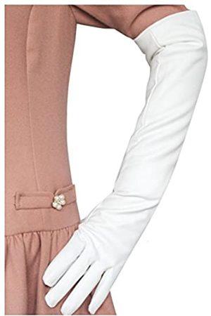 Glamorstar Damenhandschuhe, warm, über dem Ellenbogen