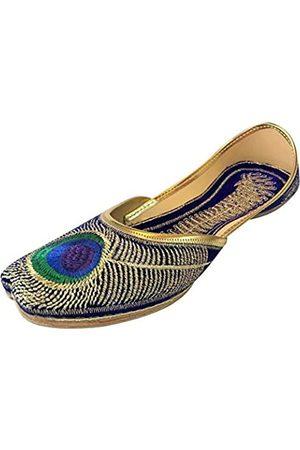 Step N Style Damen Pfauensandale Flip-Flops Punjabi Us Indische Mojari Khussa Jutti