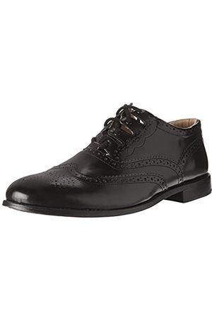 Thistle Shoes Leder Ghillie Brogue Kilt Schuhe Traditionelle schottische Piper und Highland Outfit Hochzeitsschuhe mit extra langen Schnürsenkeln & Lederquasten - Größen 6-17 Style - Highlander Ledersohle Farbe