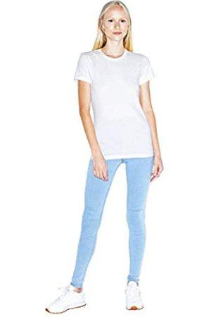 American Apparel Damen Fine Jersey Fitted Short Sleeve T-Shirt