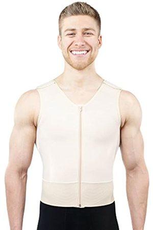 ContourMD Post-OP Gynäkomastie Recovery Garment Chest Compression Male Vest (11) - - Medium