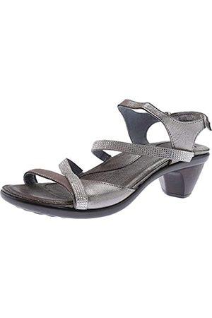 Naot Footwear Women's Innovate Heel Silver Threads Lthr/ w/Clear Rhinestones - 37 M EU / 6-6.5 B (M) US