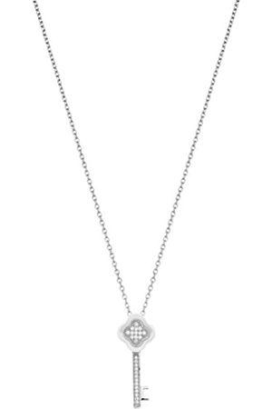 Ceranity Halskette mit Anhänger Sterling- 925 Zirkonia 45 cm 1-72/0055-B