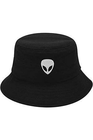 Joylife Alien Bestickter Fischerhut, verstaubare Fischermütze, Unisex Outdoor Hut