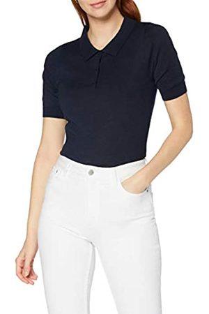 MERAKI Damen Pullover aus Merinowolle, (Marineblau, jeansblau), 36