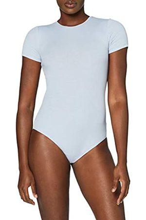 MERAKI Amazon-Marke: Damen Body aus Baumwolle, Blau (Zen Blue), L