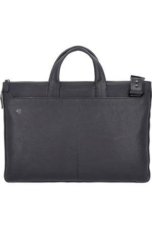 Piquadro Black Square Laptoptasche Leder 47 Cm in , Businesstaschen für Herren