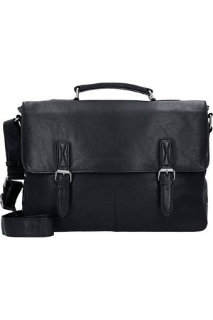Greenburry Oily Tumbled Aktentasche Leder 40 Cm Laptopfach in , Businesstaschen für Herren